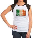 Ireland Flag Women's Cap Sleeve T-Shirt