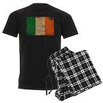 Ireland Flag Men's Dark Pajamas