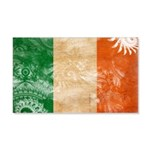 Ireland Flag 22x14 Wall Peel