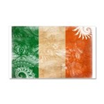 Ireland Flag Car Magnet 20 x 12