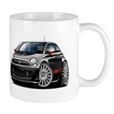 Abarth Black Car Mug