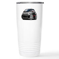 Abarth Black Car Travel Mug