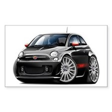 Abarth Black Car Decal