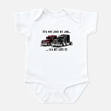 Trucker - it's my life Infant Bodysuit