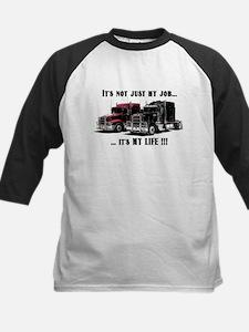 Trucker - it's my life Kids Baseball Jersey