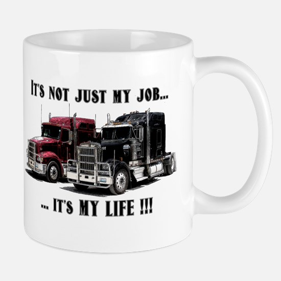 Trucker - it's my life Mug