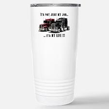 Trucker - it's my life Travel Mug