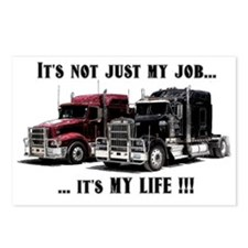 Trucker - it's my life Postcards (Package of 8)