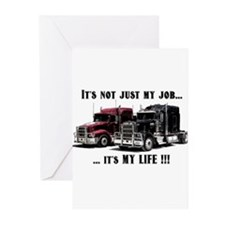 Trucker - it's my life Greeting Cards (Pk of 20)