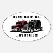 Trucker - it's my life Decal