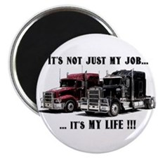 "Trucker - it's my life 2.25"" Magnet (10 pack)"