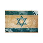 Israel Flag Rectangle Magnet (100 pack)