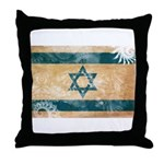 Israel Flag Throw Pillow