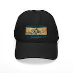 Israel Flag Black Cap
