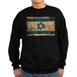 Israel Flag Sweatshirt (dark)