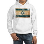 Israel Flag Hooded Sweatshirt