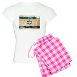 Israel Flag Women's Light Pajamas