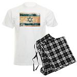 Israel Flag Men's Light Pajamas