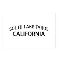 South Lake Tahoe California Postcards (Package of