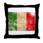 Italy Flag Throw Pillow