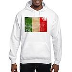 Italy Flag Hooded Sweatshirt