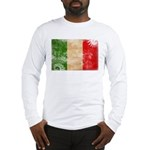 Italy Flag Long Sleeve T-Shirt
