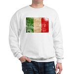 Italy Flag Sweatshirt