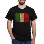Italy Flag Dark T-Shirt