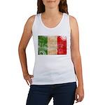 Italy Flag Women's Tank Top