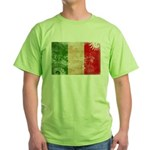 Italy Flag Green T-Shirt