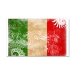 Italy Flag Car Magnet 20 x 12