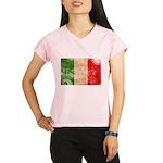 Italy Flag Performance Dry T-Shirt