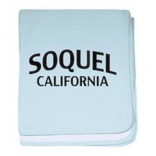 Soquel California baby blanket