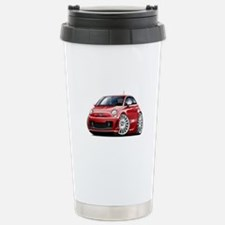 Abarth Red Car Travel Mug