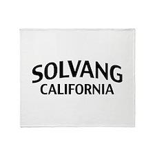 Solvang California Throw Blanket
