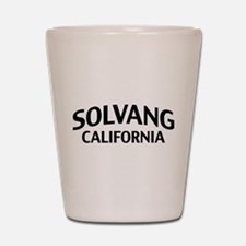 Solvang California Shot Glass