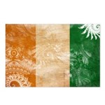 Ivory Coast Flag Postcards (Package of 8)
