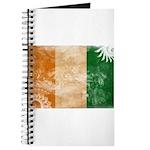 Ivory Coast Flag Journal
