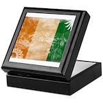 Ivory Coast Flag Keepsake Box