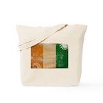 Ivory Coast Flag Tote Bag