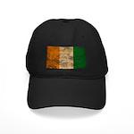 Ivory Coast Flag Black Cap