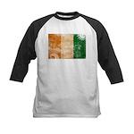 Ivory Coast Flag Kids Baseball Jersey