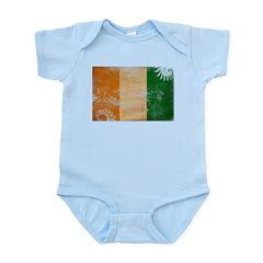 Ivory Coast Flag Infant Bodysuit
