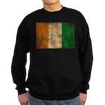 Ivory Coast Flag Sweatshirt (dark)