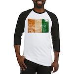 Ivory Coast Flag Baseball Jersey