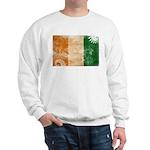 Ivory Coast Flag Sweatshirt