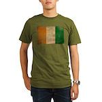 Ivory Coast Flag Organic Men's T-Shirt (dark)