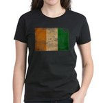 Ivory Coast Flag Women's Dark T-Shirt