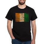 Ivory Coast Flag Dark T-Shirt