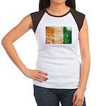 Ivory Coast Flag Women's Cap Sleeve T-Shirt